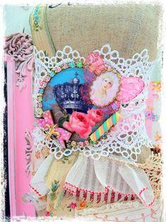 Marie Antoinette Crown Lace Bracelet by InsanelySweetJewelry