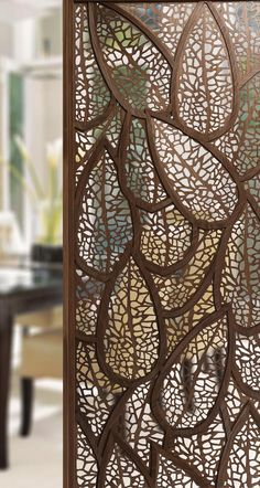 7 creative ideas to partition dining area - Living Room Partition Design, Room Partition Designs, Room Partition Wall, Decorative Room Dividers, Decorative Screens, Wall Dividers, Diy Room Divider, Panel Room Divider, Living Room Divider
