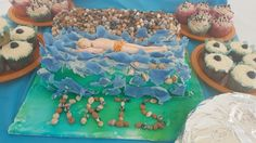Cake for my son Kris an open water swimmer