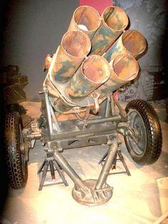Album of 27 photos of a gun 15 cm Nebelwerfer 41