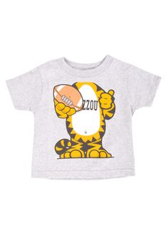 Don't forget the little fans.. love this Tigers Toddler Truman Tee from Rally House!