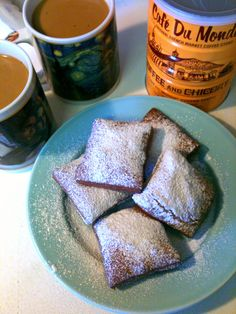 Beignets: an Ode to Cafe du Monde and NOLA.
