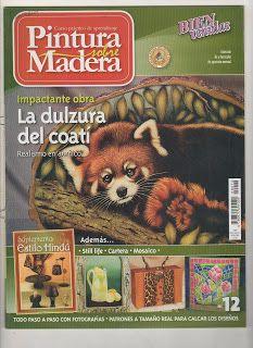 Revistas de Manualidades Para Descargar: Pintura sobre Madera N°12