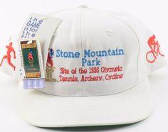 NWT Vintage '96 Olympic Games Atlanta Tennis Archery Cycling Snapback Hat  | Sports Mem, Cards & Fan Shop, Fan Apparel & Souvenirs, Olympics | eBay!