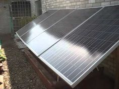 You dont need a DIY solar panel system kit to go 100% solar power. After two years of work today I threw the switch and went 100% off grid with solar power. It really works! What is surprising is it cost less and was easier to do than expected. That being said I had a lot of help from Al http://YouTube.com/EcoNewPower. I will break down all the...