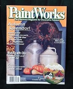 Paintworks Paint Works magazine #75, November 2001.  at www.FindersOfKeepersBooks.com  6758. Check for more painting, art and craft magazines.