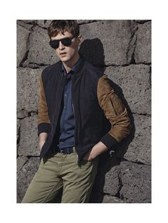 he by mango spring summer 2014 photos 0010 Mathias Lauridsen + Cedric Bihr Pose for H. by Mango Spring/Summer 2014 Photos Sporty Outfits, Stylish Outfits, Cool Outfits, Stylish Clothes, Revival Clothing, Outfit Combinations, Manga, Stylish Men, Casual Looks