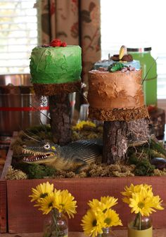 Alligator Bayou + Swamp Birthday Party