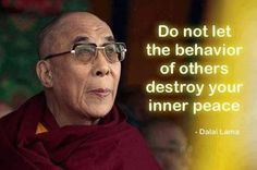 our inner peace is an our hand.
