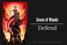 7 of wands Tarot Crystal Visions