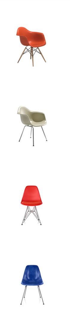 Authentic #Eames Molded Plastic Chairs are the best investment for quality, service and performance @hermanmiller