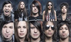 Escape The Fate another photo full of total hotness.  Photo by Jeremy Shaffer featured in Metal insider