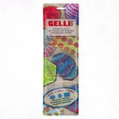 Gelli Plate Minis Oval, Hexagon & Rectangle €27.99