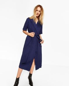 Image 2 of CROSSOVER DRESS from Zara