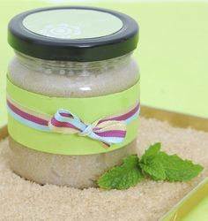 Brown Sugar, Coconut Oil and Peppermint Body Scrub: 1 cup brown sugar, 1/2 cup coconut oil and 10-12 drops of peppermint oil. Use palm of hands and fingers to apply. Can also use mitt or sponge. Use gentle pressure, so as not to aggravate skin. Use repetitive circular strokes. After exfoliating, rinse off with warm water. Gently dry face with soft clean cloth. Pat dry, instead of rubbing.