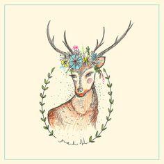 """Ilustração """"Fauna""""// Amanda Mol"""