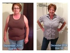Losing inches makes a huge difference! I've noticed this for MYSELF!!  :)  I am so happy to share with you all of Pam's success on her first 90 Day Challenge CHECK MY SITE BELOW OUT FOR ALL THE DETAILS!! http://loseweight.getslimsf.com/