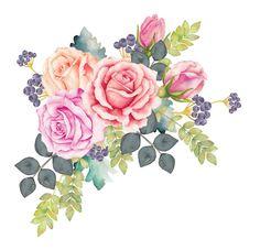 Картинки с цветами + высечки
