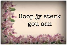 Word gou gesond Birthday Prayer, Get Well Soon, Afrikaans, Words, Inspiration, Health, Garden Ideas, Language, Motivation