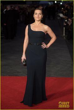 Kate Winslet & Michael Fassbender Glam Up 'Steve Jobs' Closing Night Gala