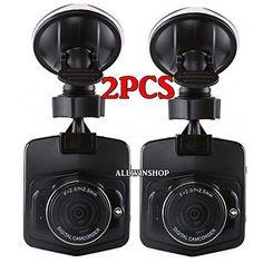 "Full HD 720P 2.3/"" Car DVR CCTV Dash Camera G-sensor Night Vision Recorder US BP"