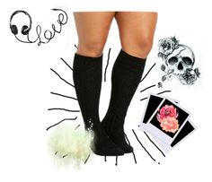 """""""cute socks"""" by tormentedsugarofficial ❤ liked on Polyvore featuring Polaroid"""