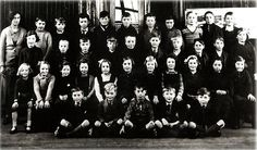 Aberlady School 1936 - could one of these kids have been Lorna, I wonder?