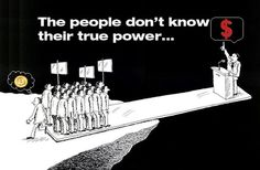 Don't stand too near to the edge. The people don't know their true power. #Bitcoin vs. #Dollar