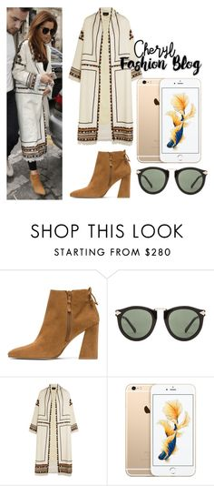 """""""Cheryl arriving in France with Liam xx"""" by liampaynestyleblog on Polyvore featuring Karen Walker and Isabel Marant"""
