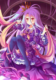 """manga anime """"no game no life - Bing images Loli Kawaii, Kawaii Anime Girl, Manga Anime, Anime Art, Beautiful Anime Girl, Anime Love, Nogame No Life, Image Manga, Anime Shows"""