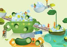 """다음 @Behance 프로젝트 확인: """"LIDL culinary booklet"""" https://www.behance.net/gallery/42773273/LIDL-culinary-booklet"""