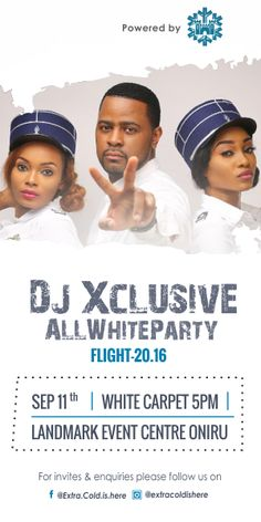 DJ XclusiveDisc Jockey wows Lagos with epic performances   A concert designed to bring together phenomenal performances Exclusive sure didn't disappoint with his jaw-dropping entrance as he enthralled the audience.  Yesterday September 11 2016 Nigerian disc jockey DJ Xclusive set fire to the city of Lagos as he held his all white party at the Landmark Event Centre Lagos.  A concert designed to bring together phenomenal performances Exclusive sure didn't disappoint with his jaw-dropping…