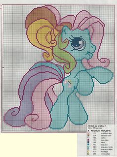 cross-stitch pony