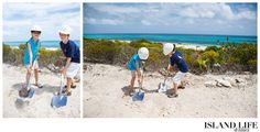 Even the kids got into the ground breaking!  www.islandlifeandtimes.com #turks #caicos #turksandcaicos