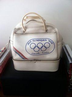 459ad7af47ed Bag LAFUMA vintage Games Olympic 1968 Gym Bags