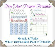 Meal Planner Printables