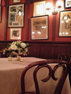 Intimate and personal wedding reception at Antoine's Restaurant in New Orleans. Florals by Poppy and Mint