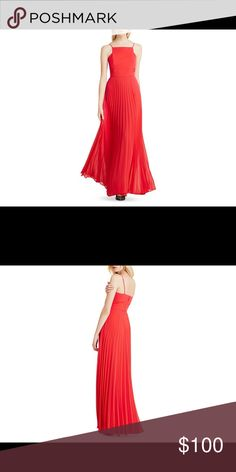 SALE! BCBGeneration Maxi! New! Red maxi, very cute! BCBGeneration Dresses Maxi