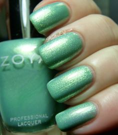 Zoya Spring 2014: Awaken Collection + Special Effect Topper Monet - Swatches and Review | Pointless Cafe DILLON