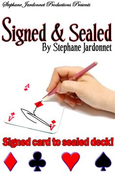 Ad-Copy Design for Magician Stephane Jardonnet - My Rates page: http://www.backroommagic.com/apps/photos/