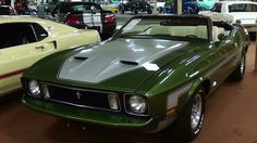 Rare 1973 Ford Mustang Convertible 351 CJ 4 BBL Four-Speed