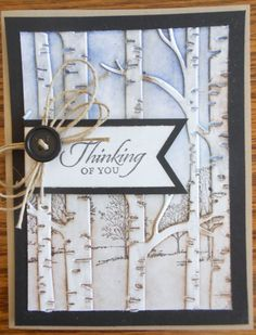 Fall Cards, Winter Cards, Card Making Inspiration, Making Ideas, Masculine Birthday Cards, Masculine Cards, Embossed Cards, Stamping Up Cards, Thanksgiving Cards