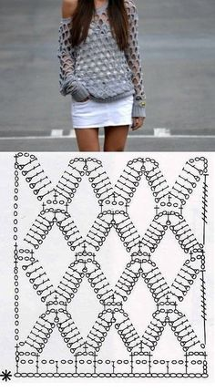 Captivating Crochet a Bodycon Dress Top Ideas. Dazzling Crochet a Bodycon Dress Top Ideas. Pull Crochet, Mode Crochet, Crochet Shirt, Diy Crochet, Crochet Baby, Crochet Tops, Tutorial Crochet, Crochet Jacket, Crochet Ideas