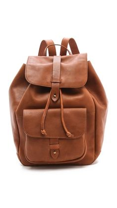 Madewell Leather Rucksack.