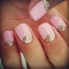 Pink glittery & flirty