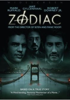 Zodiac, Directed by David Fincher and starring Jake Gyllenhaal, Mark Ruffalo and Robert Downey Jr. Streaming Movies, Hd Movies, Horror Movies, Movies Online, Movies And Tv Shows, David Fincher, Robert Downey Jr, Beau Film, Love Movie