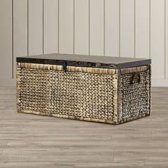 Found it at Wayfair - Lily Water Hyacinth Storage Trunk