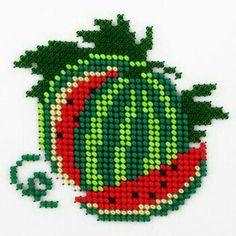 Watermelon needlework