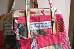 quilted weekender by Amber/one shabby chick.
