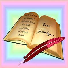 Bücherstapel gezeichnet  Autorin/Bloggerin MARLIES HANELT- VORSTELLUNG- auf RALPH PAPES HP ...